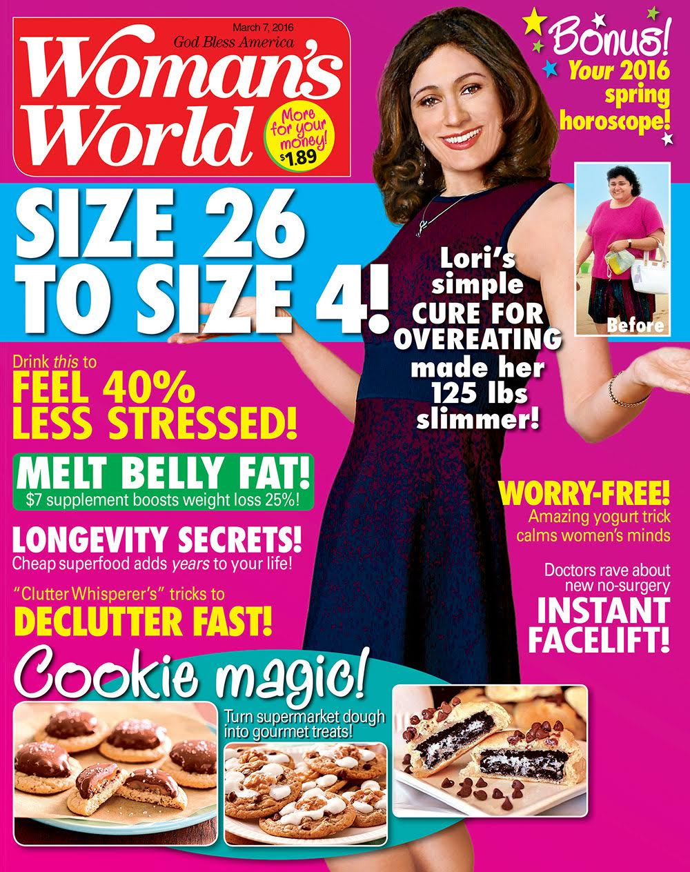 In This Issue of Woman's World